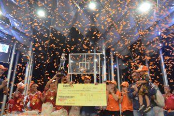 Gran Final de la Copa Biota de fútbol de salón infantil interbarrios