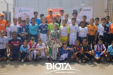 Lanzamiento oficial de la segunda versión de la Copa Biota infantil 2019